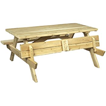 Cedarlooks 020021A Cedar Picnic Table