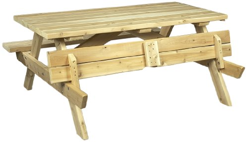 Cedarlooks 020021A Cedar Picnic Table by Cedarlooks