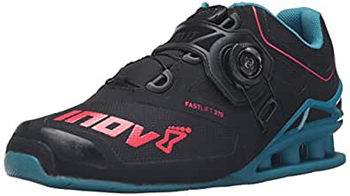 Inov-8 Fastlift™ 370 Boa-U Cross-Trainer Shoe, Black/Teal/Berry, 4 M US Men's/5.5 M US Women's