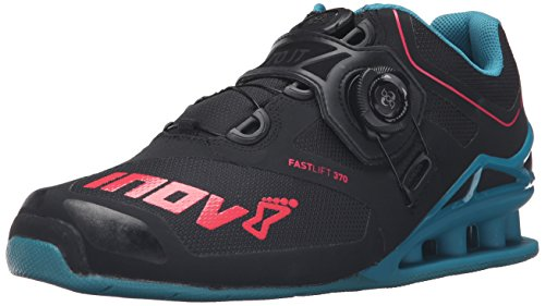 Inov-8 Fastlift™ 370 Boa-U Cross-Trainer Shoe, Black/Teal/Berry, 8 M US Men's/9.5 M US Women's