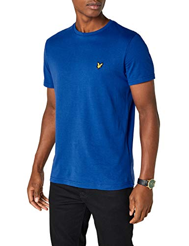 Lyle shirt Scott Crew duke amp; T Neck Blue J Homme vxFqvrOCw