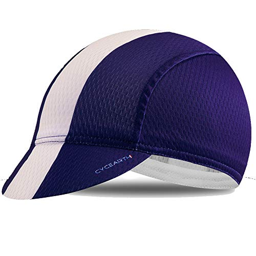 9b107a91 CYCEARTH Cycling Sun Cap Ployester Breathable Baseball Hat for Men Awsome  Motorcycle Caps Purple