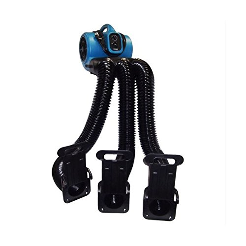 Pet Grooming Cage Dryer and Multi Drying Hose Set in bluee