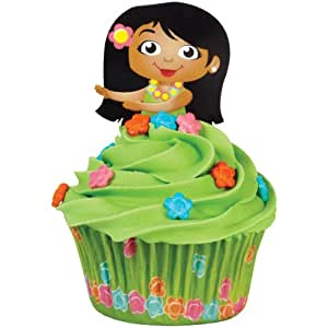 Wilton 415-0825 Hula Girl Cupcake Decorating Kit