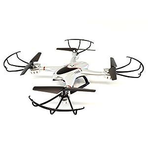 Drone with Camera, Ei-Hi S20C Mirage 2.4G Headless Auto-Return RTF Quadcopter Drone with 2 MP HD Camera (Silver)