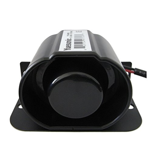 Yuesonic 12-36V 107dB Waterproof Heavy-Duty Back-Up Alarm for Trucks Construction Machines etc