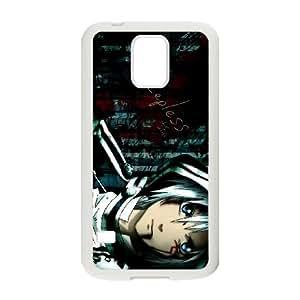 D.Gray-man Samsung Galaxy S5 Cell Phone Case White