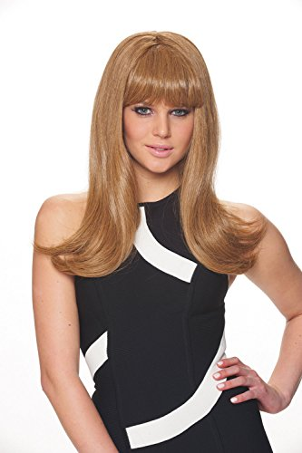 Costume Culture Women's Mod Fashion Wig, Honey Blonde, One Size
