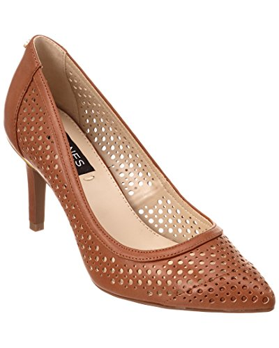 Jones New York Donna Delta Perf Tan Vitello Liscio