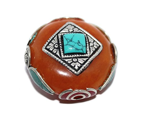(Amber Beads Coral Beads Turquoise Beads Boho Beads Handmade Beads B285)