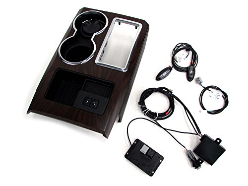 2010 Ford F150 Wood Grain Center Console Panel Interior Ambient Lighting Kit ()