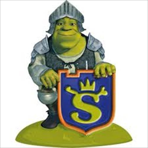 Shrek The Third Cake Candle (1ct)