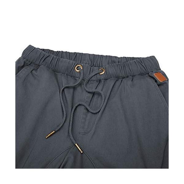 CARETOO Pantalon Cargo pour Homme Pantalon en Tissu Extensible pour Sport, Fitness, Trekking, Loisirs, Ville/Streetwear…