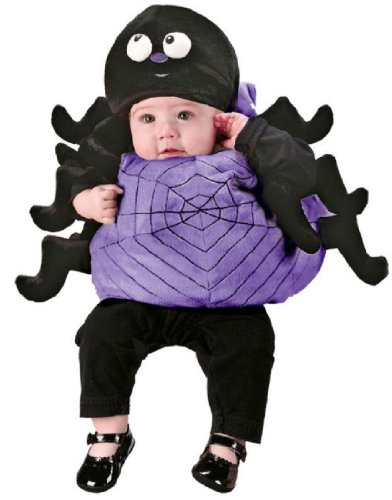 [Infant Spider Costume] (Baby Girl Spider Halloween Costume)