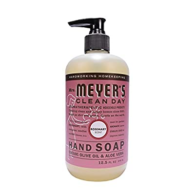Mrs. Meyer's Liquid Hand Soap, Rosemary, 12.5 Fluid Ounce