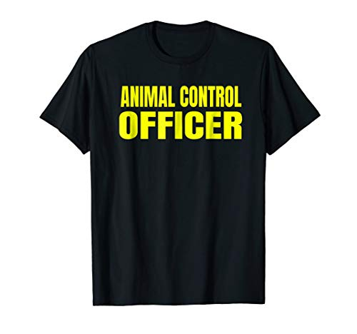 Animal Control T-Shirt Halloween Costume Shirt -