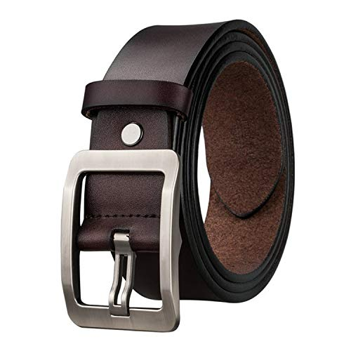 2019 New Fashion Designers Pin Buckle Leather luxury Belts Business Male Pin buckle Belts for Men's,SZ-0008-B,115cm
