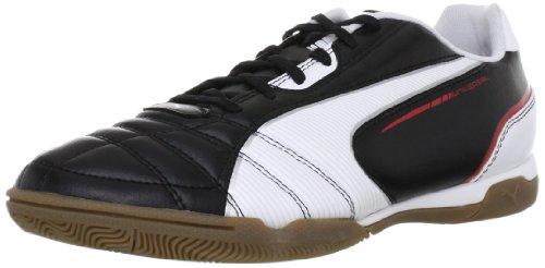 Puma Universal IT 102700, Herren Hallenschuhe, Schwarz (black-white-ribbon red 02), EU 39 (UK 6) (US 7)