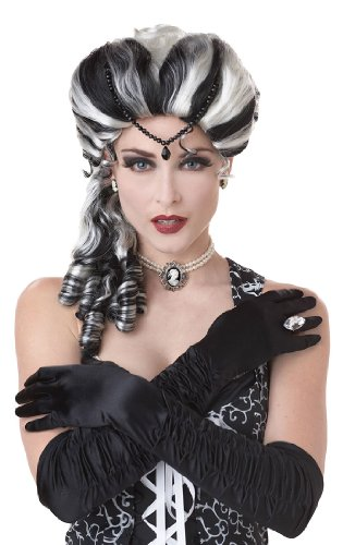 Victorian with Side Curls Wig Costume Accessory
