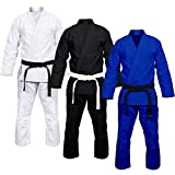 #2: Estek Sports BJJ Jiu Jitsu Gi Mixed Martial Arts IBJJF Approved Brazilian Ultra Light Kimono Uniform