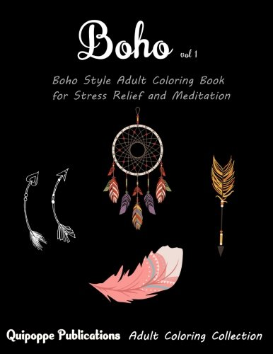 Download Boho vol 1: Boho Style Adult Coloring Book for Stress Relief and Meditation ebook
