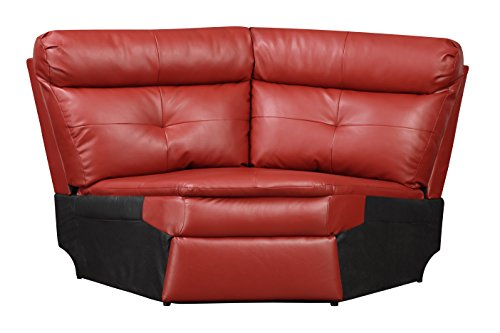 Glory Furniture G570-W Wedge for Sectional Sofa, Red