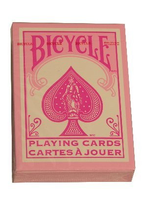 Bicycle Special Reverse Pink Theme Playing - Pink Playing Cards