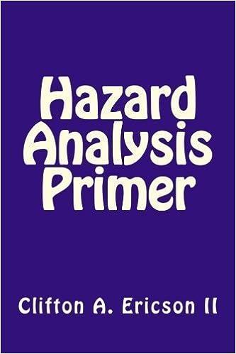 Hazard Analysis Primer by Mr. Clifton A. Ericson II (2012-02-14)