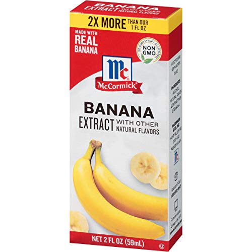 McCormick Banana Extract, 2 fl oz