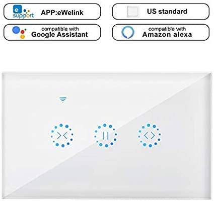 Amazon com: Powstro WiFi Smart Curtain Motor Switch APP or Voice