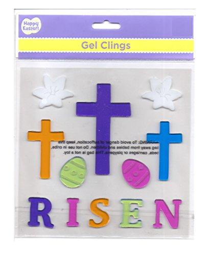 Easter Gel Clings HE IS RISEN
