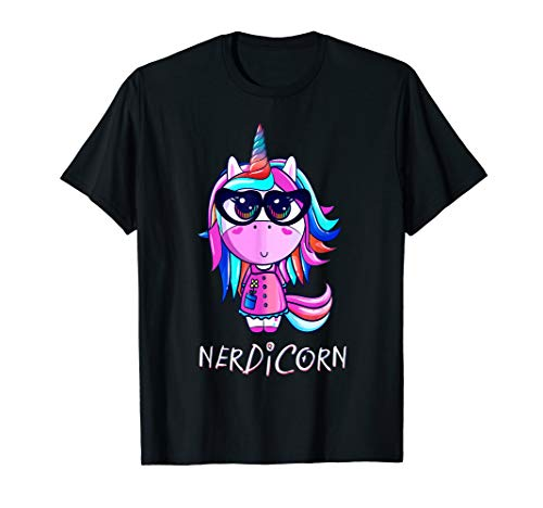 Unicorn + Nerd Nerdicorn Magical Stabby Gift Women