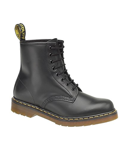 Dr.Martens 1460Z Black Leather Womens Boots Size 5 UK