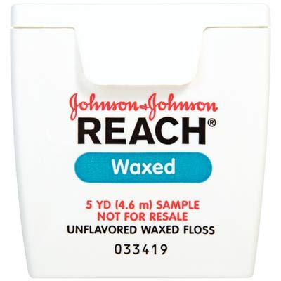 Reach Floss Waxed 5 Yards Patient Trial Size 144/Box