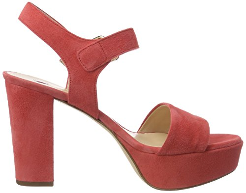 Women koralle 8812 5 Sandals Högl Orange 10 Platform EvXqcwx0