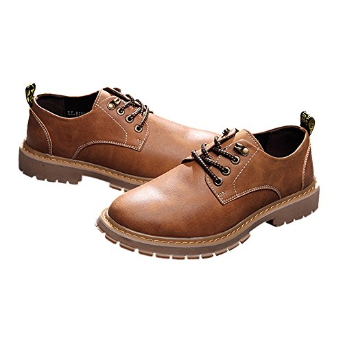 NXY Men's Knoxville Plain Toe Gore-Tex Oxford Yellow ()