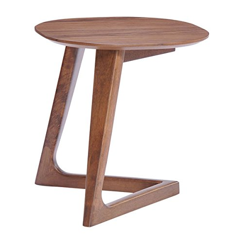 Table Side Modern Zuo (Zuo Park West Side Table, Walnut)