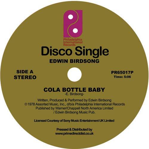 Album Art for Cola Bottle Baby / Freaky Deaky Sities by EDWIN BIRDSONG