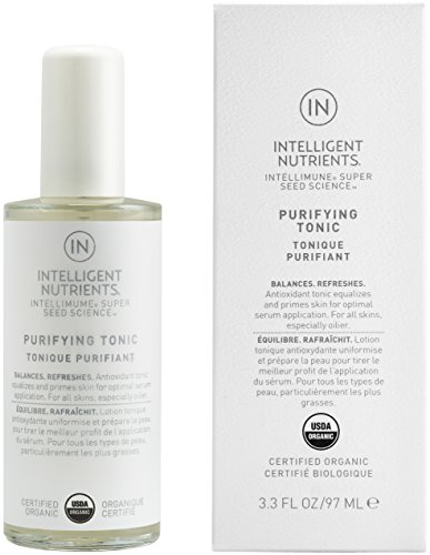 Intelligent Nutrients Purifying Tonic - Hydrating Face Tonic Spray for All Skin Types, Makeup Setting Spray (3.3 oz)