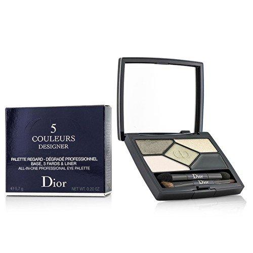 Dior One Colour Eye Shadow - Christian Dior 5 Color Designer All In One Professional Eye Palette - No. 308 Khaki Design - 5.7g/0.2oz