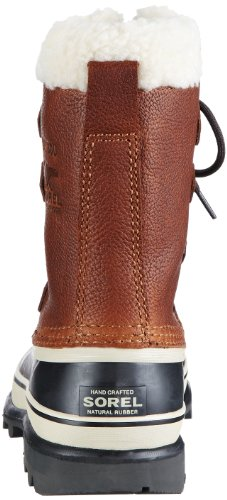 Sorel CARIBOU WL - botas de nieve de cuero mujer marrón - Braun (Tobacco 256)