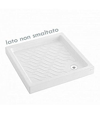 Piatti Doccia Pozzi Ginori Ceramica.Piatto Doccia Cm 80 X 80 Mod Naviglio Pozzi Ginori 063606