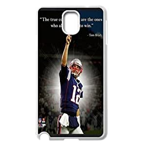 Unique Phone Case Pattern 14New England Patriots Tom Brady #12 - For Samsung Galaxy NOTE3 Case Cover