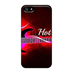 Excellent Design Hot Rock Guitar Case Cover For Iphone 5/5s