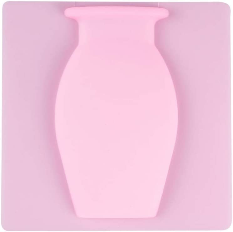 NewPinky Silica Gel Traceless Vase Wall Hanging Refrigerator Paste Wall Magic Hydroponic Vase Paste Colorful