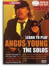 Lame biblioteca. Aprender a tocar Angus Young - los solos. DVD de ...
