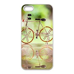 Cool Toy Cycle IPhone 5,5S Cases, Iphone 5 Case Pattern Okaycosama - White
