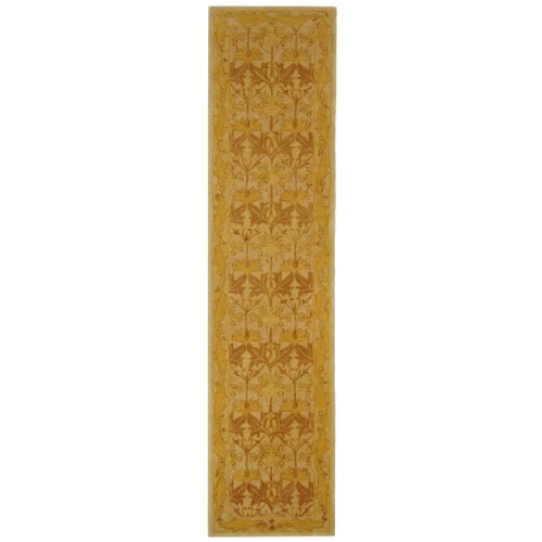 Safavieh Anatolia Collection AN541B Handmade Traditional Oriental Beige and Gold Wool Runner (2'3