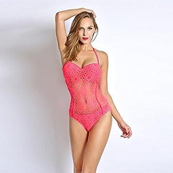 b723c22c56e50 One Piece Costumes Rose sexy Impression maillots de bain femme Body Maillot  de bain Maillot de