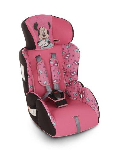 Disney piku 6125 silla de coche dise o minnie grupos 1 for Silla coche bebe 9 kilos